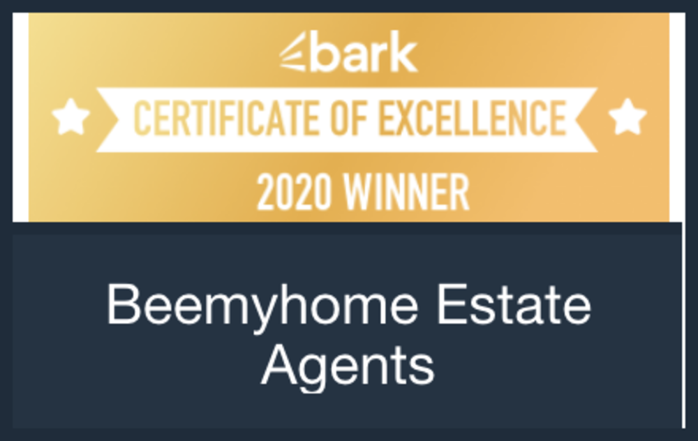 BeeMyHome Certificate of Excellence Winner 2020
